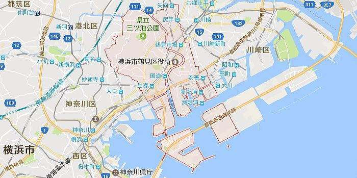 横浜市鶴見区エリア